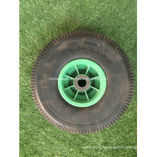 4.10 / 3.50-4 roue molle de mousse d'unité centrale de pneu