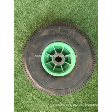 4.10/3.50-4 Flat Tire PU Foam Wheel