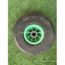 Roda da espuma do plutônio do pneu liso 4.10 / 3.50-4