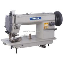 Máquina de ponto fixo de alimentação superior e inferior com cortador lateral e encadernador de fita