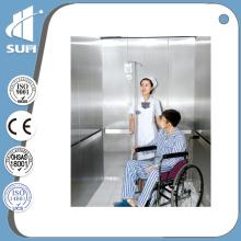 Kapazität 2000kg Geschwindigkeit 1.0m / S Krankenhaus Aufzug