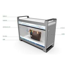 46-Zoll-Werbung Transparent LCD-Display