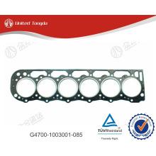 YUCHAI cylinder head gasket, YC6G engine cylinder head Gasket G4700-1003001-085