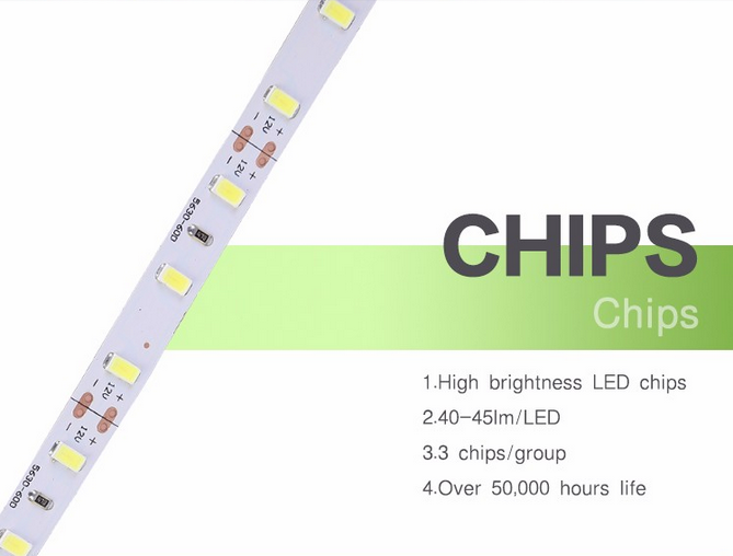 outdoor SMD5730 strip light