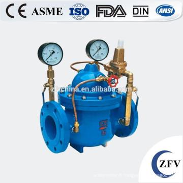 Réduire la pression de fer Ductile prix usine clapet (PRV) pour l'eau
