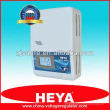 SRWII-4000-L Display LCD montado relé regulador de tensão de controle