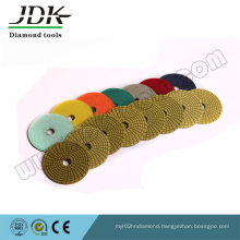 100mm Diamond Flexible Polishing Pads for Marble and Granite