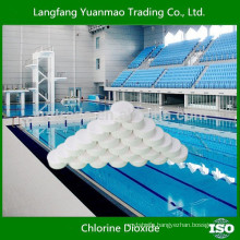 Chlorine Dioxide Tablet for Swimmming Pool Treatment Fungicides Made in China
