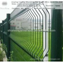 Clôture en treillis métallique enrobée de poudre (Shunxing Factory)