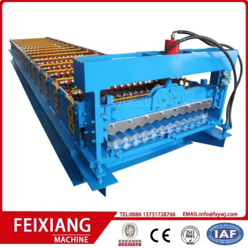 Automatic Corrugated Roofing Tile Roll Forming Machine
