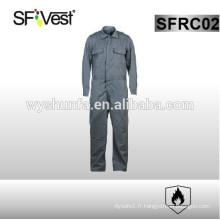 2015 vêtements de travail en tissu ignifuge SFVEST chaud avec certificat NFPA 2112