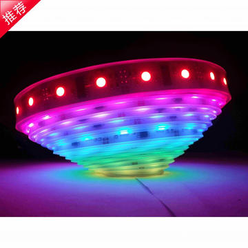 Lampu LED Strip LED WS2812B RGB 5050 LED strip 144 IC LED Strip