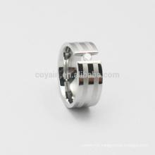 Two Tone Women Girls Antique Steel Ring For Party