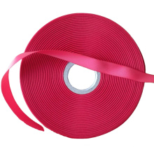 Eco-friendly single side woven edge satin care label for garment