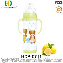 2016 Newly 200ml Stainless Steel Baby Feeder Milk Bottle (HDP-0711)