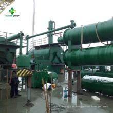 Aceite de motor usado usado para lubricar aceite a la planta de diesel con certificado CE