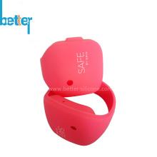 Bracelet en caoutchouc de silicone personnalisé pour la promotion