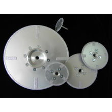 cortador a disco brasado de alta qualidade do disco do diamante para o concreto e a parede