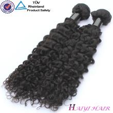 Les faisceaux chauds d'armure de cheveux humains de remy, faisceaux de cheveux humains de haute catégorie tissant l'importation de cheveux humains