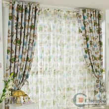 Desenhos animados do urso de peluche bonitos & crianças bonitos cortinas árabes