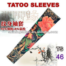 2016 hot sale flower tattoo sleeves real