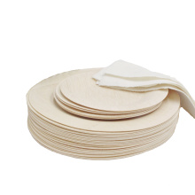 hot sale bamboo plates disposable for house party supplies with custom logo
