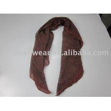 Bufanda de seda hermosa y de moda para las mujeres