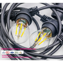 Lumière extérieure de ceinture de l'ampoule IP65 E27 LED de SL-56 G45 pour la décoration de Noël imperméable