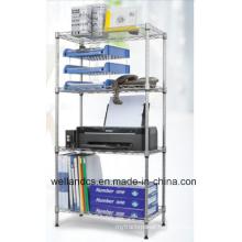 DIY Chrome Metal Wire Book Rack (CJ12035180A4C)