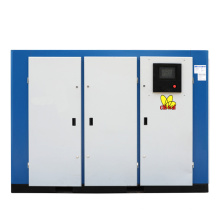 55kw 75hp Double Stage Fixed Speed Screw Aircompressors 7bar 8bar Compressor