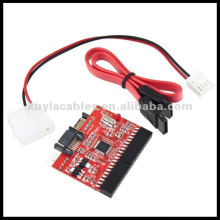 NEW IDE 133 100 HDD CD DVD TO SERIAL SATA CONVERTER ADAPTER + Cable IDE to SATA