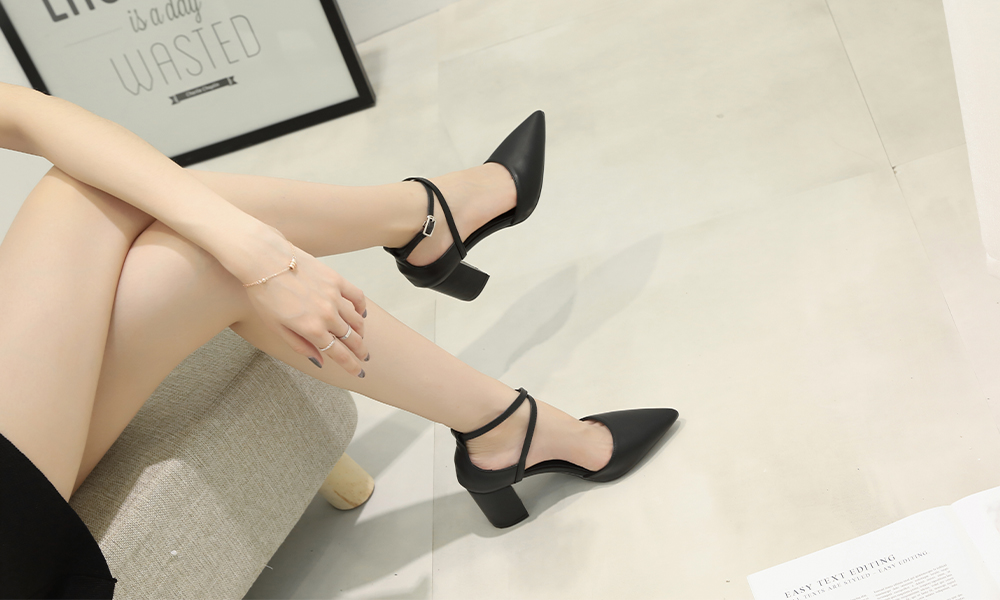 ODM Chunky Heels Shoes
