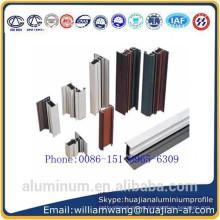 powder coated aluminium profile