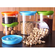 Wholesale Hot Sale Plastic Jars with Lids for Food