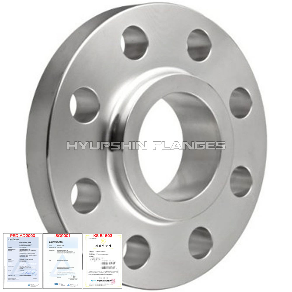Hyupshin Flanges Ansi B16 5 Steel Forged Lap Joint Flange
