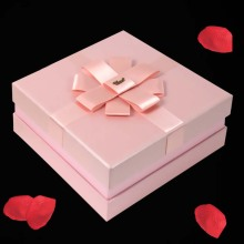 Hot Sale Presentpapper Förpackning Box With Ribbon