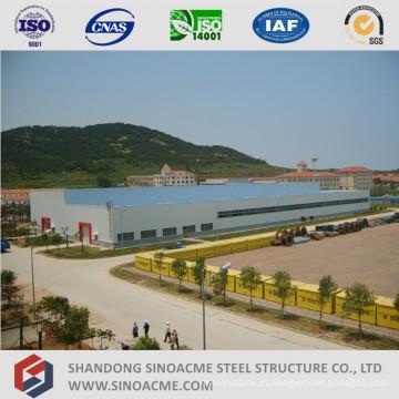 Oficina de estrutura de aço pré-fabricada de alta elevação