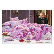 100 algodão 40s 128 * 68 luxo de impressão de pigmento macio de alta qualidade crianças roupa de cama