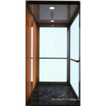 Автономный личный лифт с стеклянной стенкой