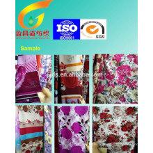 Utilisation en tissu imprimé en polyester pour la literie