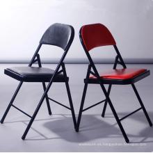 Mesa de entrenamiento plegable de alta calidad silla de la sala de reuniones oficina sillas plegables / sillas plegables / sillas para eventos