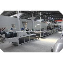 Máquina da extrusora da placa de painel do teto do PVC / linha de produção / que faz a máquina