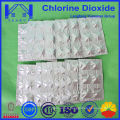 1g de comprimé de chlore dans un emballage thermoformé