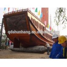 airbag pneumatique à remontage complet pour le levage de navires