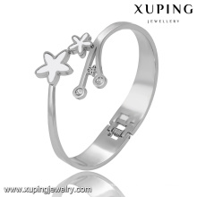51526 Fashion Star Cubic Zircon Stainless Steel Jewelry Bangle