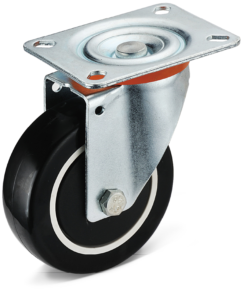 PU Flat Bottom Casters