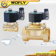 air solenoid valve brass/stainless steel material