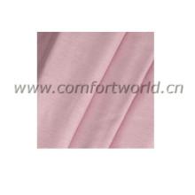 Cor de rosa de tecido 100% algodão Chambary