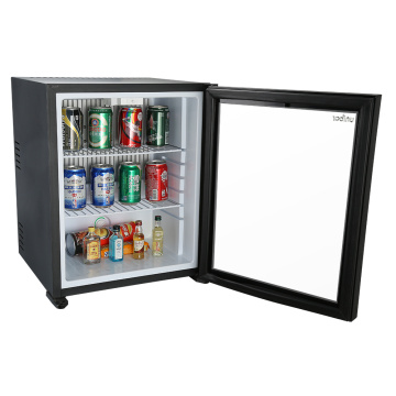 Minibar à absorption avec porte en verre simple