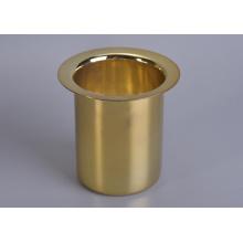 Gold Metal Jar
